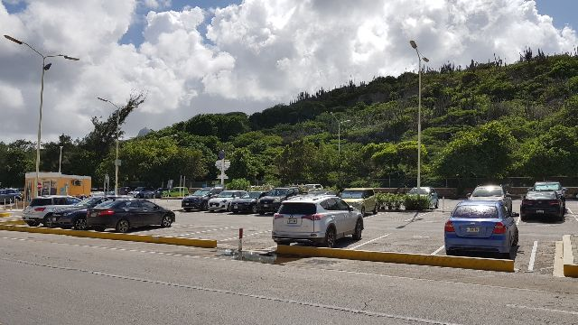 Estacionamento do aeroporto - Curaçao